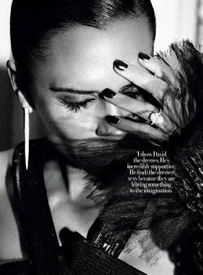 Victoria Beckham on Harper's Bazaar Magazine December 2009 sexy pics