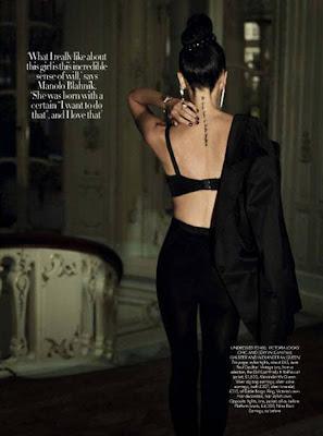 Victoria Beckham on Harper's Bazaar Magazine December 2009 sexy photos
