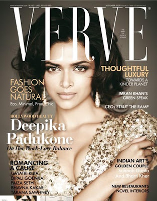 Deepika Padukone In Verve Magazine November 2009 photos