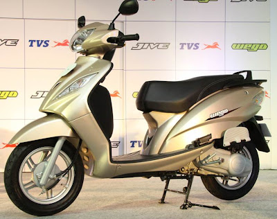 TVS WEGO scooter picture