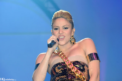 Shakira Sizzles in Paris Performance image gallery