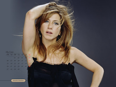 Jennifer Aniston Desktop Calendar february pics