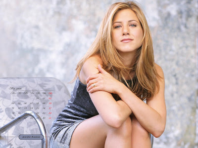 Jennifer Aniston Desktop Calendar january pics