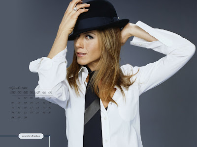 Jennifer Aniston Desktop Calendar julay pics