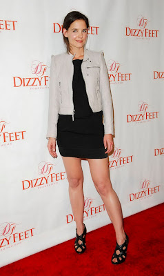 Katie Holmes Legi at Dizzy Feet Foundations Inaugural Celebration photo gallery