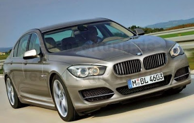 New BMW 5 wallpapers