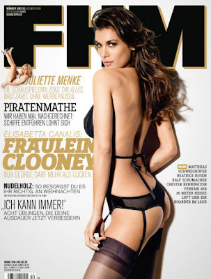 Elisabetta Canalis Photo Shoot For German FHm wallpapers