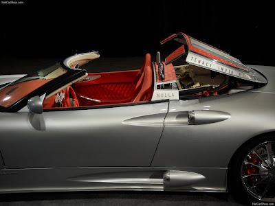 Spyker C8 Aileron Spyder letest pics