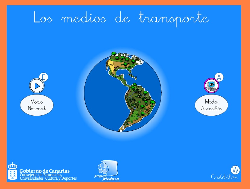 LA PIZARRA MÁGICA: LOS MEDIOS DE TRANSPORTE