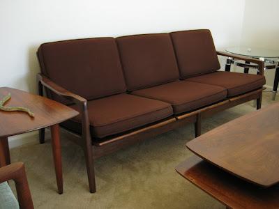 Mid Century Modern Furniture Danish Modern 3 Seater Sofa