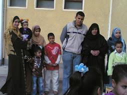 الأم المثالية وأولادها في قرية روافع القصير الجديدة