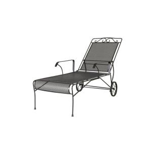The preppy islander classically prep outdoors ahh for Black metal chaise lounge