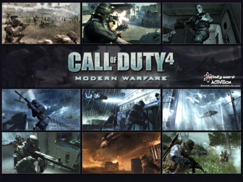 Call of Duty 4 wallpaper. Posted by Navid_GS; Category: Wallpaper