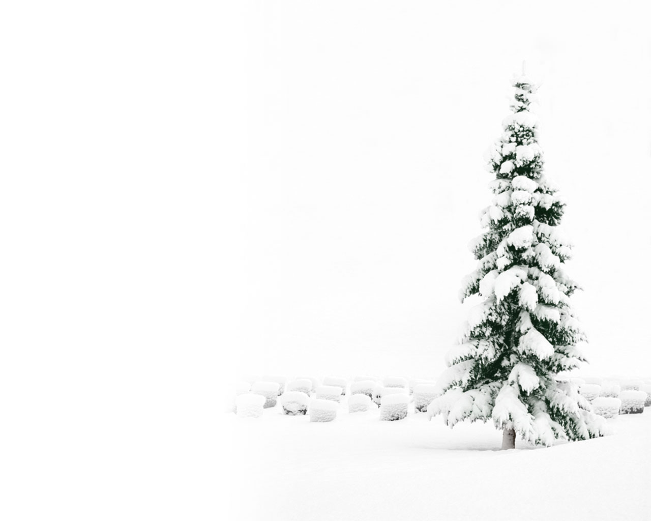 christmas snow wallpaper