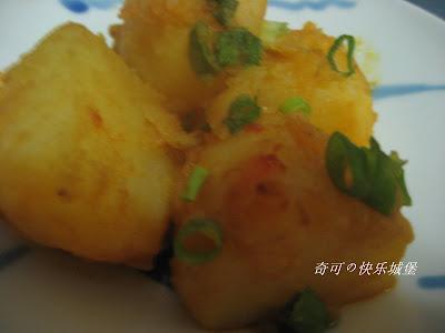 马铃薯料理