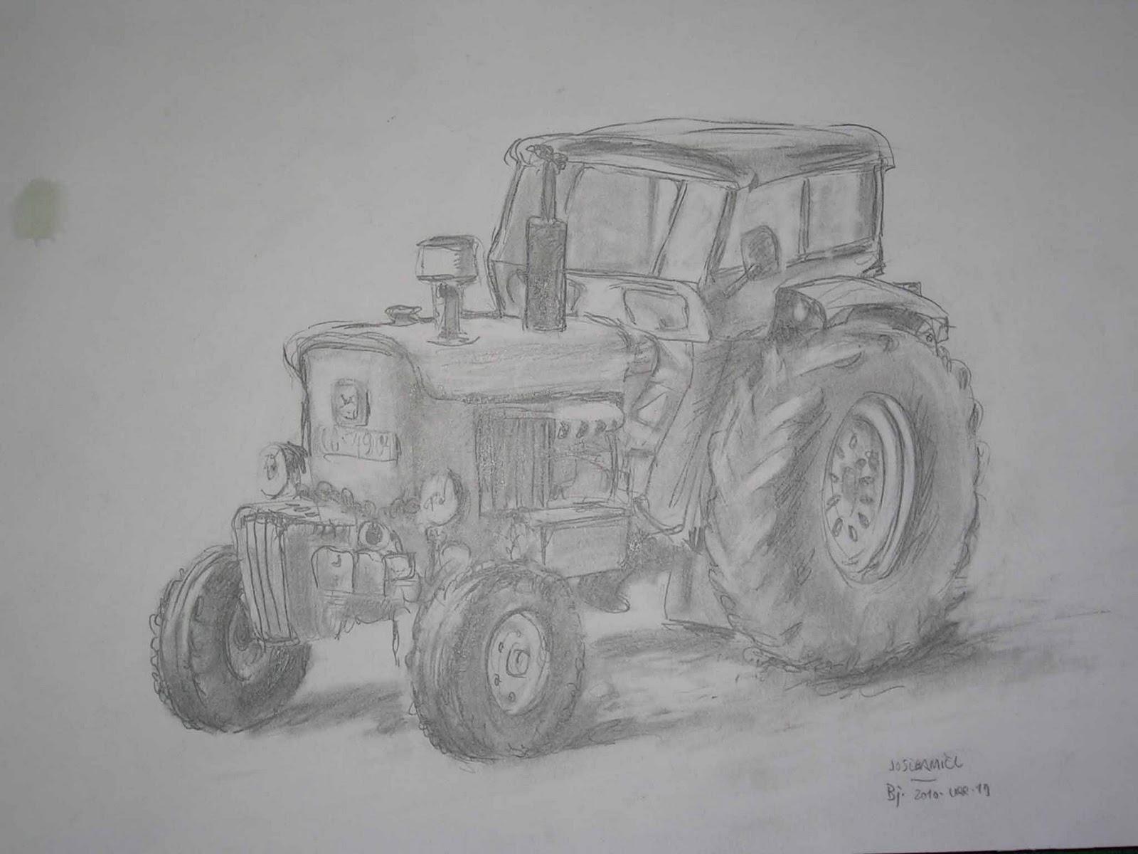 Lujo Colorear John Deere Tractor Friso - Dibujos Para Colorear En ...