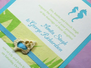 Etsy Wedding Street Team Handmade Beach Wedding Invitations