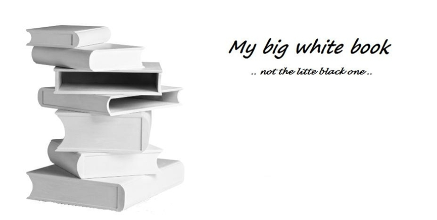 My big white book