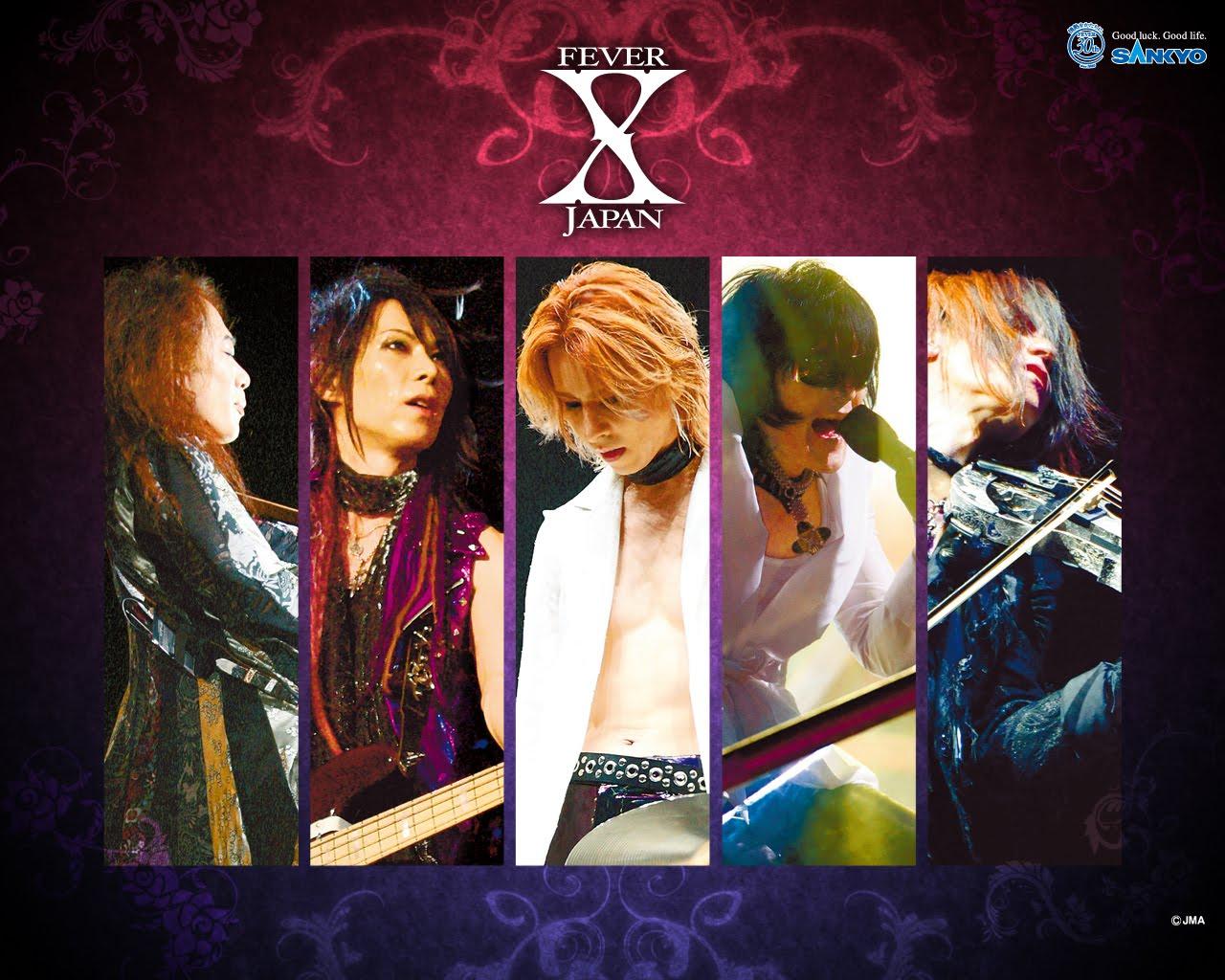 ASIA EN MEXICO: X JAPAN - Fotos página oficial World Tour 2010