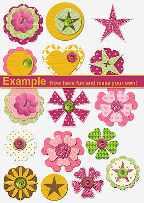 http://misscutiepiegoes80s.blogspot.com/2009/04/hybrid-make-your-own-embellishments.html