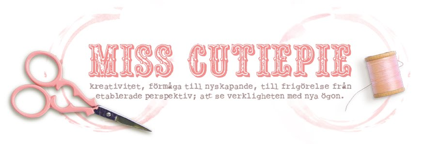 Miss CutiePie - Inspiration