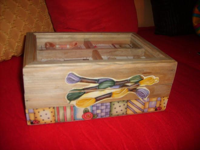 A minha caixa de costura