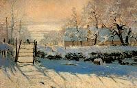 La Urraca de Claude Monet