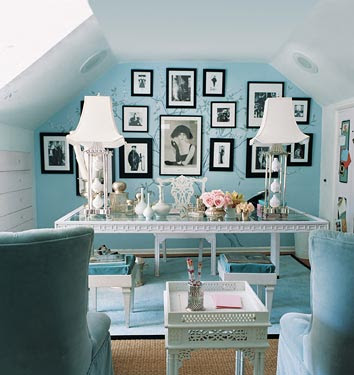 Re: Tiffany Blue Dining Room