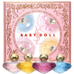 YSL, Yves Saint Laurent, YSL Baby Doll Collection, eau de parfum, fragrance, perfume