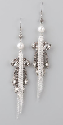 Tom Binns, Tom Binns Pearls in Peril Earrings, Tom Binns jewelry, Tom Binns earrings, jewel, jewels, jewelry, earring, earrings, Shopbop