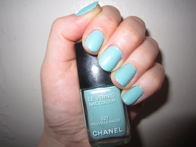 Chanel, Chanel Le Vernis Nail Colour, Chanel Le Vernis Nail Colour Nouvelle Vague, Nouvelle Vague, Chanel Nouvelle Vague, Chanel nail polish, Chanel polish, polish, nail, nails, nail polish, mani, manicure, mani of the week