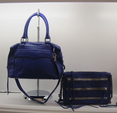 Rebecca Minkoff, Rebecca Minkoff Fall 2010 Preview, fashion, handbag, fashion week, purse, fashion preview, Rebecca Minkoff Morning After Bag Electric Blue, Rebecca Minkoff 5 Zip Clutch Electric Blue
