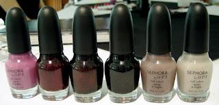 Sephora, Sephora by OPI, OPI, nail polish