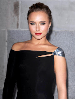 Hayden Panettiere, tomato red lips, lipstick, beauty trend, makeup trend