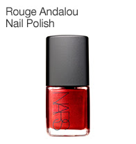 NARS, nails, nail, nail polish, polish, red, red nail polish, red nails