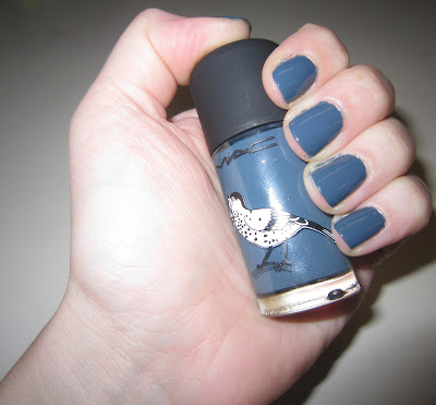 M.A.C, MAC, M.A.C Cosmetics, MAC Cosmetics, M.A.C Give Me Liberty of London, M.A.C Blue India, M.A.C Blue India Nail Lacquer, M.A.C Give Me Liberty of London Blue India, nail, nails, nail polish, polish, lacquer, nail lacquer, mani, manicure, Mani of the Week