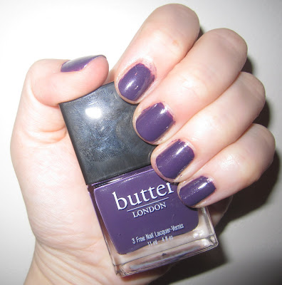 butter LONDON, butter LONDON Fall Collection, butter LONDON nail polish, butter LONDON nail lacquer, butter LONDON nail varnish, nails, swatches, butter LONDON Marrow
