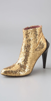 Derek Lam, Derek Lam booties, Derek Lam shoes, Derek Lam Regine Sequin Booties