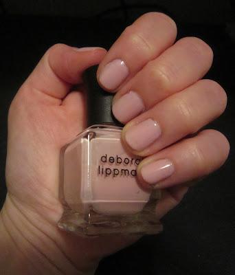 Deborah Lippmann, Deborah Lippmann Nail Polish, Deborah Lippmann Shape of My Heart, nail, nails, nail polish, polish, lacquer, nail lacquer, breast cancer awareness, BCA