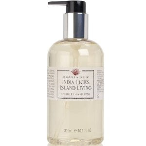 Crabtree & Evelyn, Crabtree & Evelyn India Hicks collection, Crabtree & Evelyn India Hicks Island Living, Crabtree & Evelyn India Hicks Island Living Spider Lily Hand Wash, Crabtree & Evelyn hand wash, Crabtree & Evelyn soap, Crabtree & Evelyn hand soap, soap, hand soap, hand wash, The Best Hand Soaps