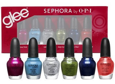 Sephora by OPI, Sephora by OPI Nail Polish, Sephora by OPI Glee Nail Polish Collection, nail, nails, nail polish, polish, lacquer, nail lacquer, Glee, Glee nail polish, Glee nail polish collection, Gleeks