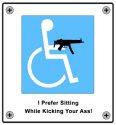 Wheelchair Gun