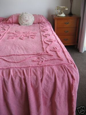 Old Fashioned Chenille Bedspreads