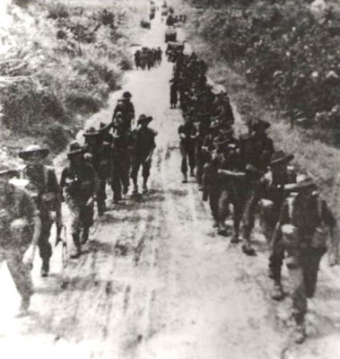 world war soldiers. World War 1 Soldiers Marching.