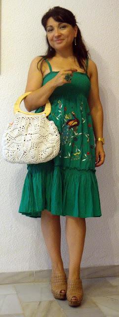 outfit-con-vestido-verde