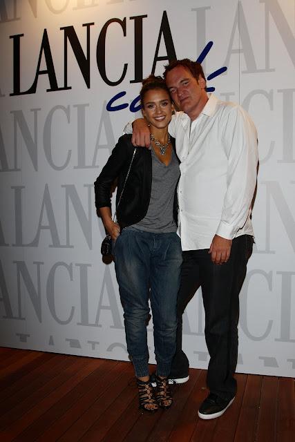 Jessica+Alba+and+Quentin+Tarantino
