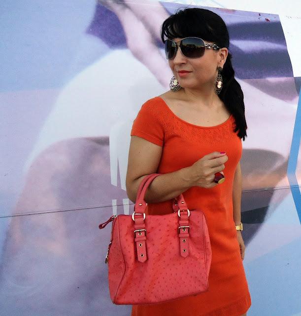 look+vestido+naranja