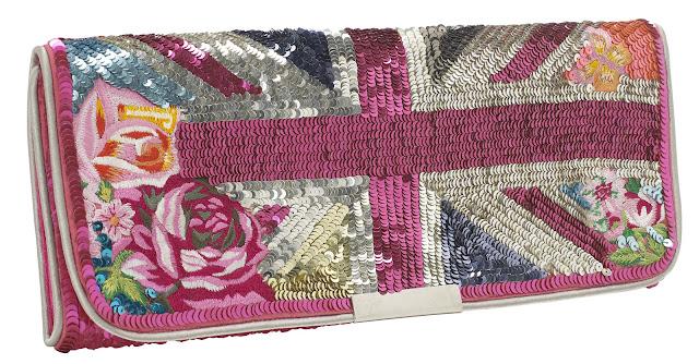 Floral+Brittania+Clutch