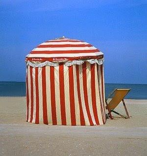 French Beach Parasol