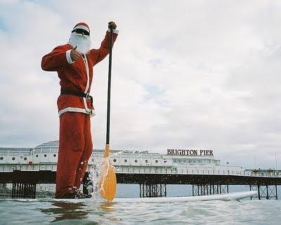 Santa Brighton Beach